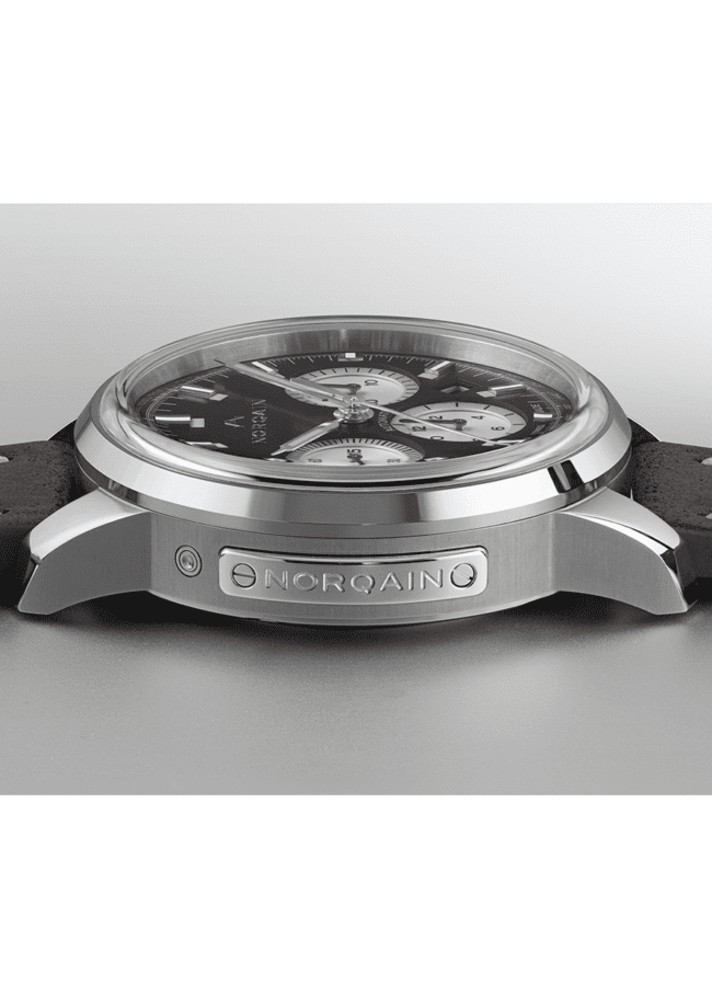 NORQAIN Freedom 60 Black Dial Plate