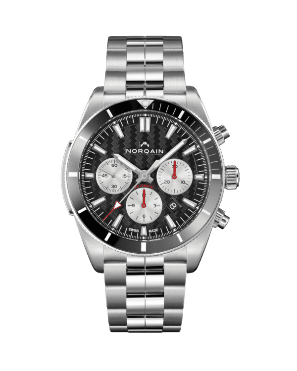 NORQAIN N1200 Grey Dial with Steel
