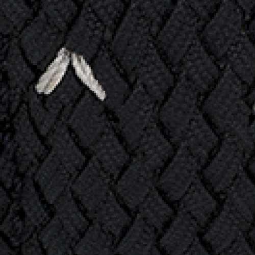 Black Perlon Rubber